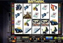 DC Comic Batman als Video Slot von Cryptologic: mit Bonus Bet Feature!