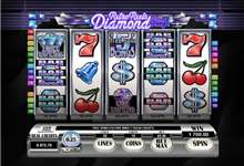 Retro Reels Diamond Glitz: klassischer Look, aber High-Tech Video Slot!