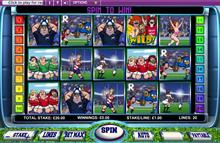 Spielen Sie Rugby mit Odd Shaped Balls online Video Slot!
