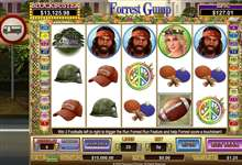 Forrest Gump Film Slot mit Hollywood Jackpot!