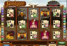 Wilder Westen live: Video Slot Gunslinger mit Progressive Jackpot