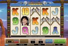 Native Treasure slots - spil dette video slot online