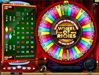 Wheel of Riches - Roulette in vier Farben plus Gratis-Spins Bonus
