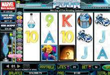 The Fantastic Four ist ein Cryptologic Slot mit progressive Jackpot