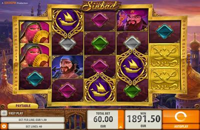 Spiele The Voyages Of Sinbad - Video Slots Online