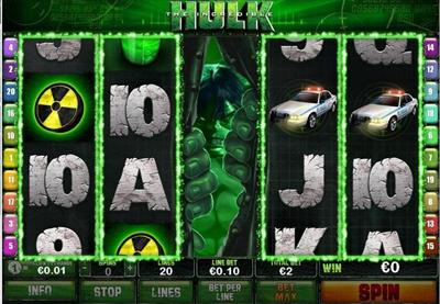 Video Slot Hulk