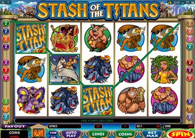 Spiele Stash Of The Titans - Video Slots Online