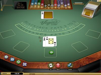strip blackjack online spielen