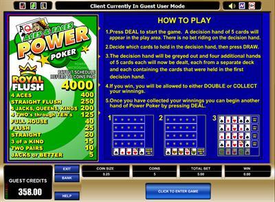 casino online spielen gratis joker poker